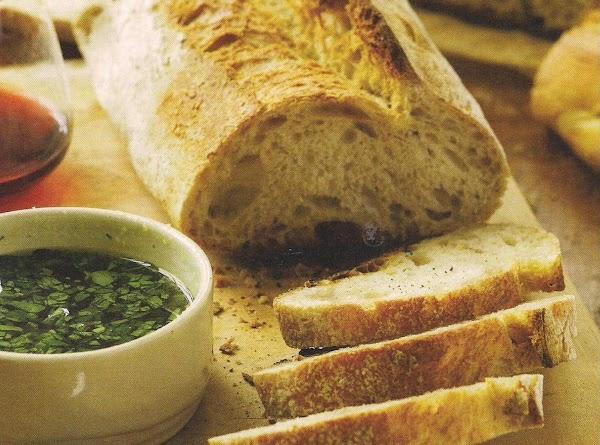 Olive Juice Bread Bath Recipe