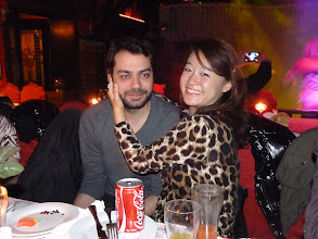 Photo: Beijing - TB dinner in russian restaurant Elephant, ES Catalan G with his GF Mandy