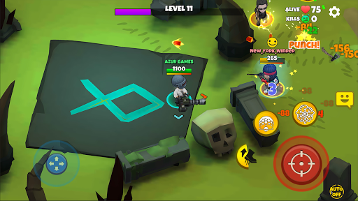 Warriors.io - Battle Royale Action screenshots 3