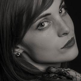 Joanne by Helen Nickisson - People Portraits of Women ( studio, joanne, headshot,  )