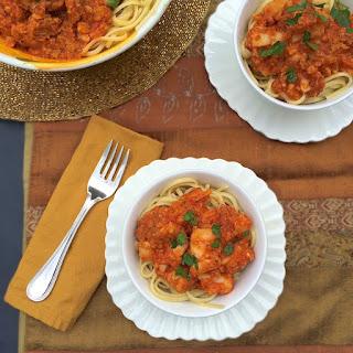 Baccalà (Salt Cod) Tomato Sauce over Linguine