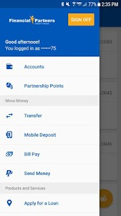 FPCU Mobile Banking- screenshot thumbnail