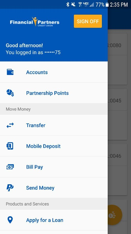 FPCU Mobile Banking- screenshot