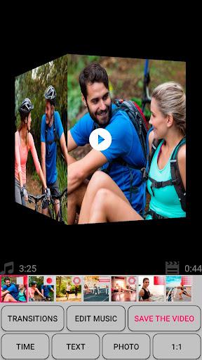 Slideshow with photos and music screenshot 8