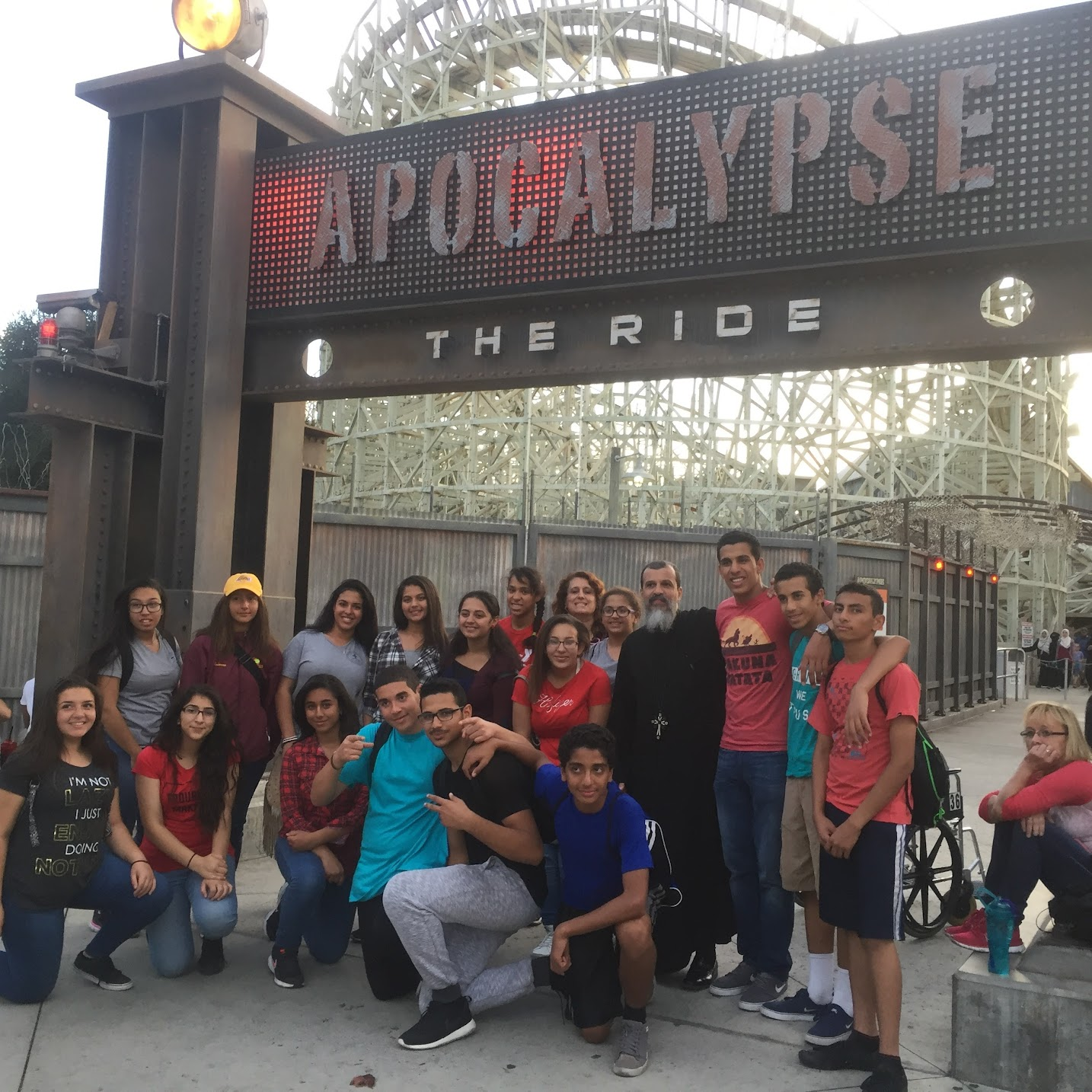 Youth Trip To Six Flags 2016 Photos