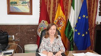 La alcaldesa de Huércal-Overa, Francisca Lourdes Fernández.