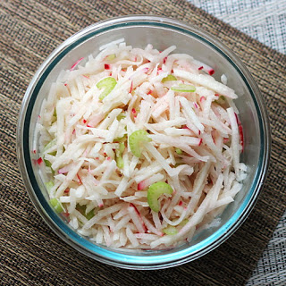 Jicama and Radish Salad