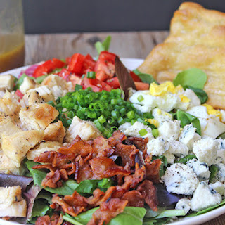Cosi Cobb Salad with Sherry Shallot Vinaigrette (Copycat)