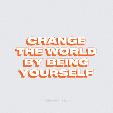 Being Yourself - Instagram Post template
