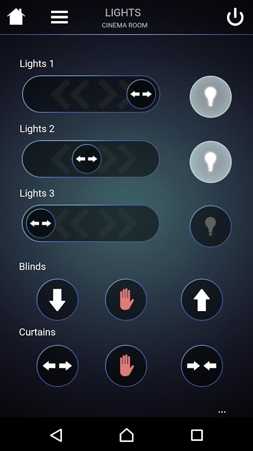 Push Controls- screenshot