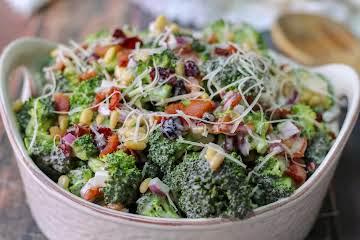 Broccoli Crunch Salad With a Parmesan Twist