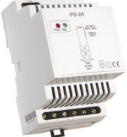 Spänningsaggregat, PS-24, 230VAC/24VDC, 3 moduler, 1,25 A, switchat