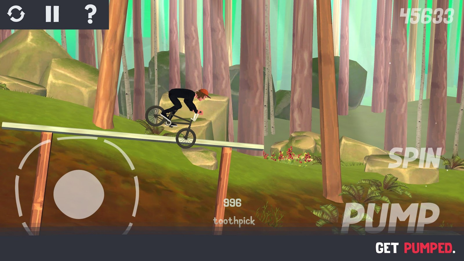 Pumped BMX 3 – Capture d'écran
