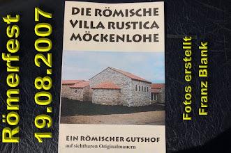 Photo: Sonntagsausflug nach Möckenlohe zum Römerfest 2007 www.bayernfranz.de