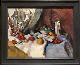 Photo: Paul Cézanne - Still life with apples