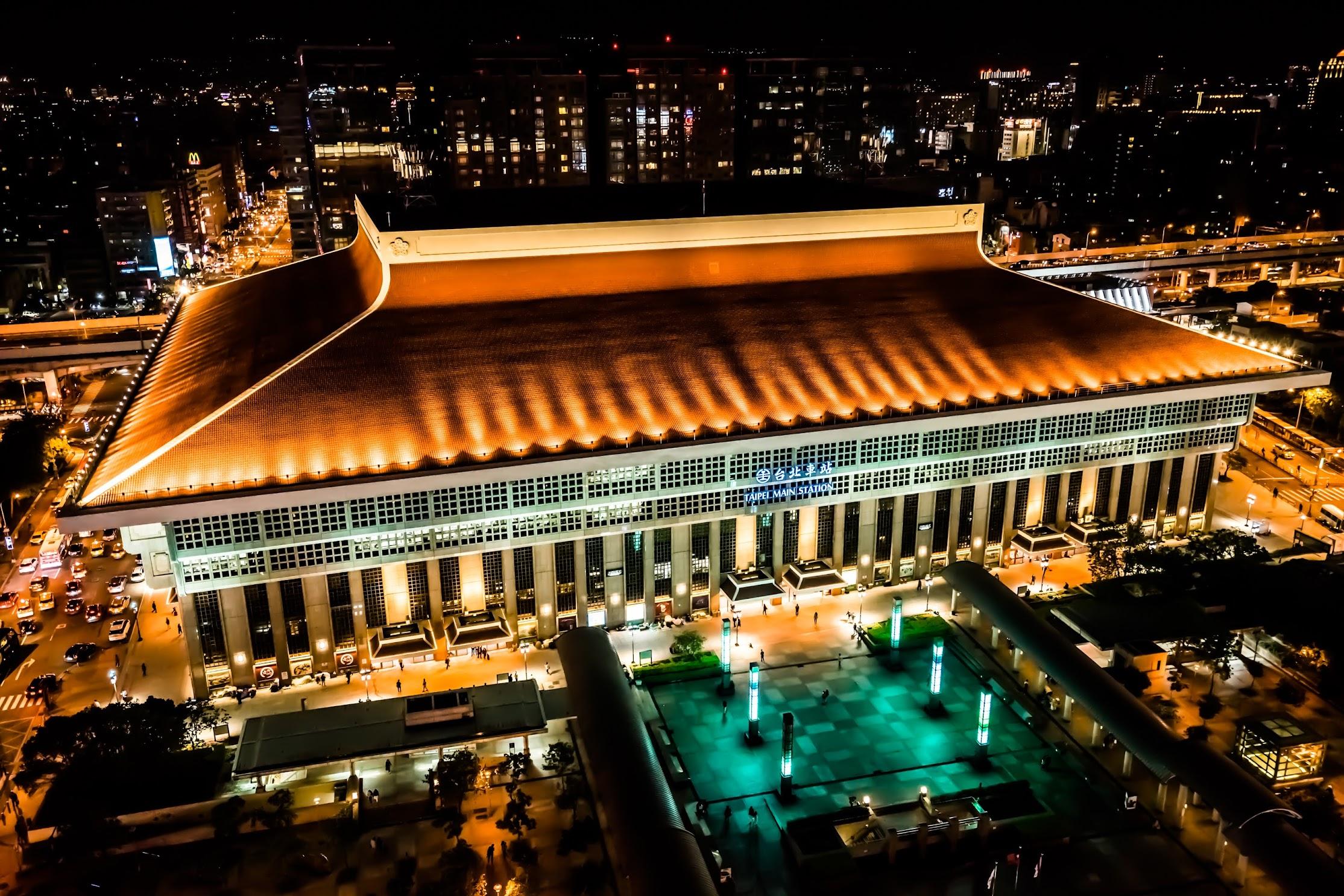 シーザーパーク台北(台北凱撒大飯店) 屋上ガーデン 台北駅