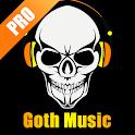 Goth Music Radio Pro 🎧 icon
