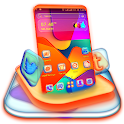 Abstract Color Tiles Launcher Theme icon