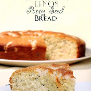 Crock Pot Lemon Poppy Seed Bread