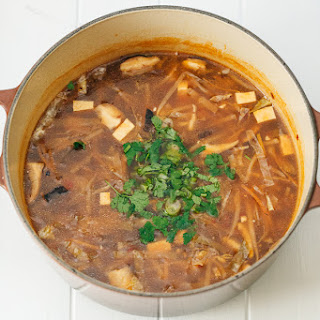 Vegan Hot & Sour Noodle Soup V.3
