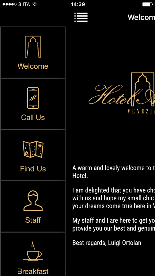 Boutique Hotel Arcadia Venice- screenshot