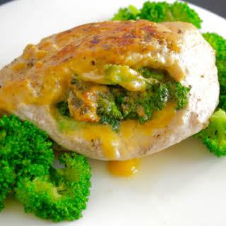 Broccoli Cheddar Stuffed Chicken Breast.