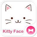 Cute Theme-Kitty Face- icon