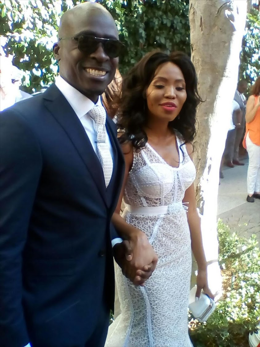 Home Affairs Minister Malusi Gigaba and his wife Norma