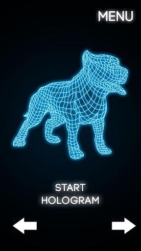 無料模拟Appのホログラム犬3Dシミュレータ|記事Game
