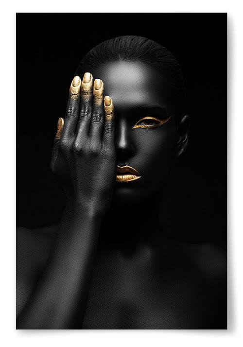 Poster Gold-n' Black 2
