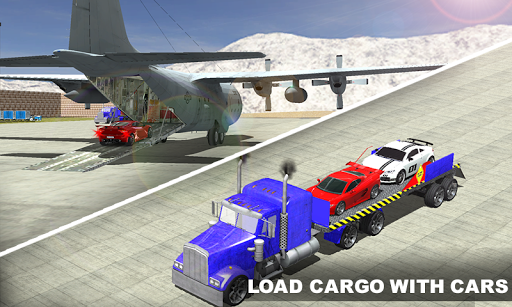 Airplane Pilot Car Transporter  screenshots 1