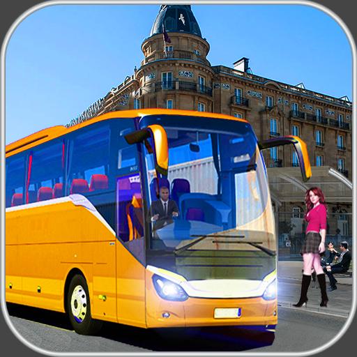 Coach Bus  : Auto Race ATV Simulation