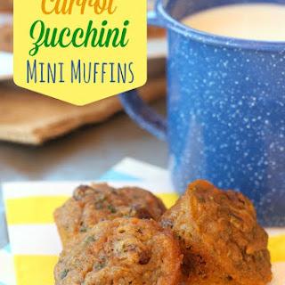 Healthy Carrot Zucchini Mini Muffins