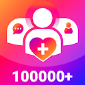 Get Free Fans Likes & Followers for instagram icon