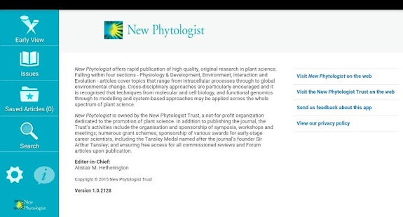 New Phytologist- screenshot thumbnail