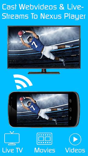 Video TV Cast - Nexus Player