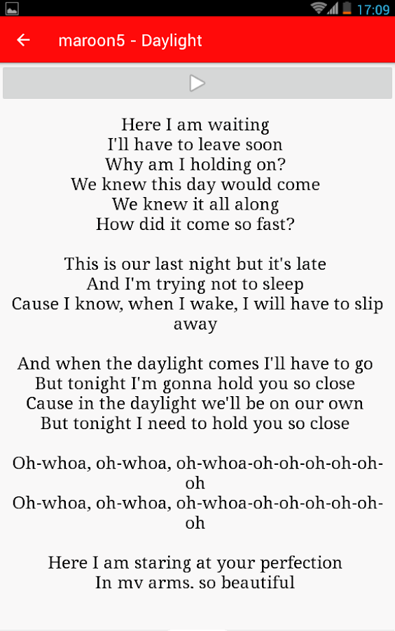 Lyric maroon 5 home without you lyrics : Maroon 5 Mp3 Lyrics - Android Apps on Google Play
