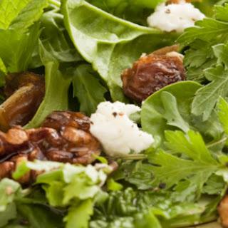 Walnut, Date, and Herb Salad.