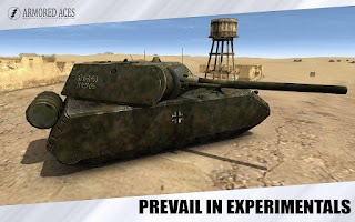 Screenshot of Armored Aces - 3D Tanks Online