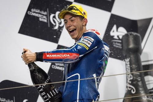 Enea Bastianini e Gresini Racing sul terzo gradino del podio nel Mondiale Moto3 2015