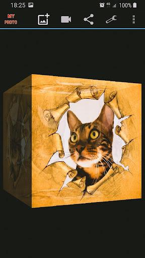 Mein Foto in 3D Live Wallpaper Screenshots 1