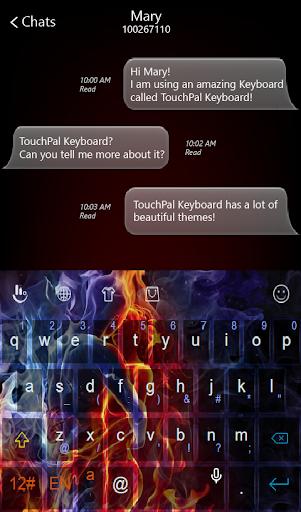 玩免費個人化APP|下載Ice Fire Love Keyboard Theme app不用錢|硬是要APP