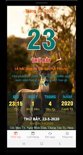 Download Lịch vạn niên 2020 - Lịch Việt & Lịch âm For PC Windows and Mac apk screenshot 1