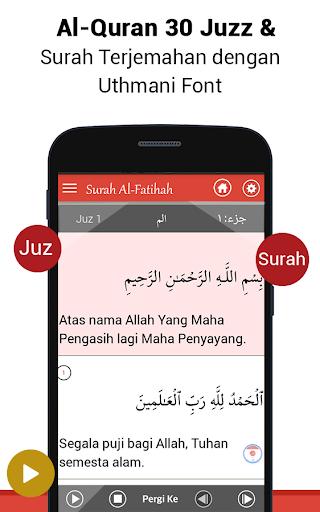 Al Quran Bahasa Indonesia MP3 screenshot 1