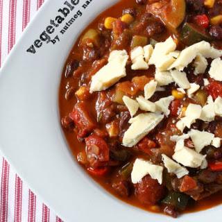 Easy Vegetable Chili