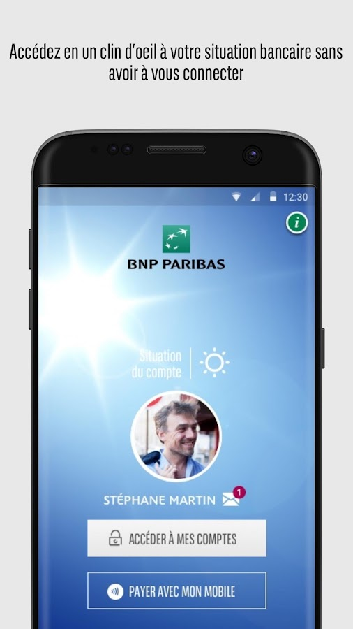 mes comptes bnp paribas android apps on google play. Black Bedroom Furniture Sets. Home Design Ideas