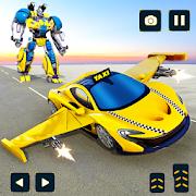 Flying Taxi Car Robot: Flying Car Transformation