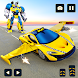 Flying Car Robot Shooting: Taxi Car Transformation - Androidアプリ