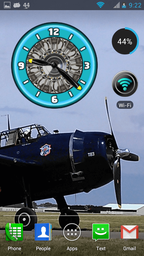Aviator Clocks- screenshot