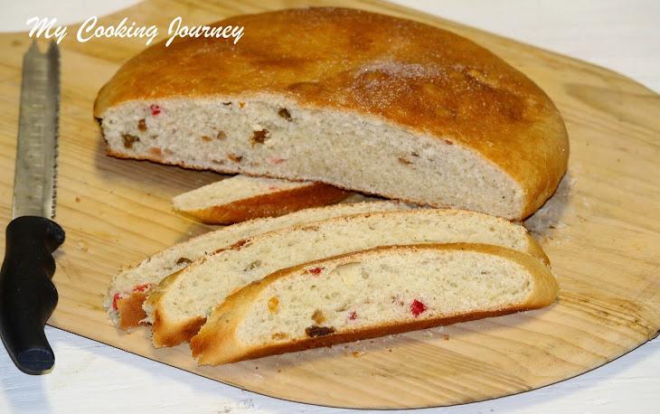 Julekake or Julekaga – Norwegian Christmas Bread (Egg Less Recipe) Recipe